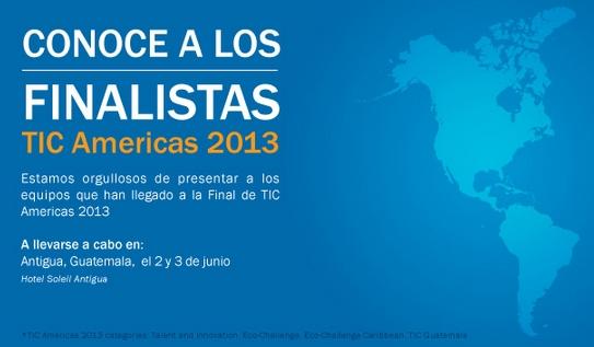TIC Americas 2013