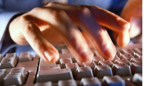 Man-typing-001