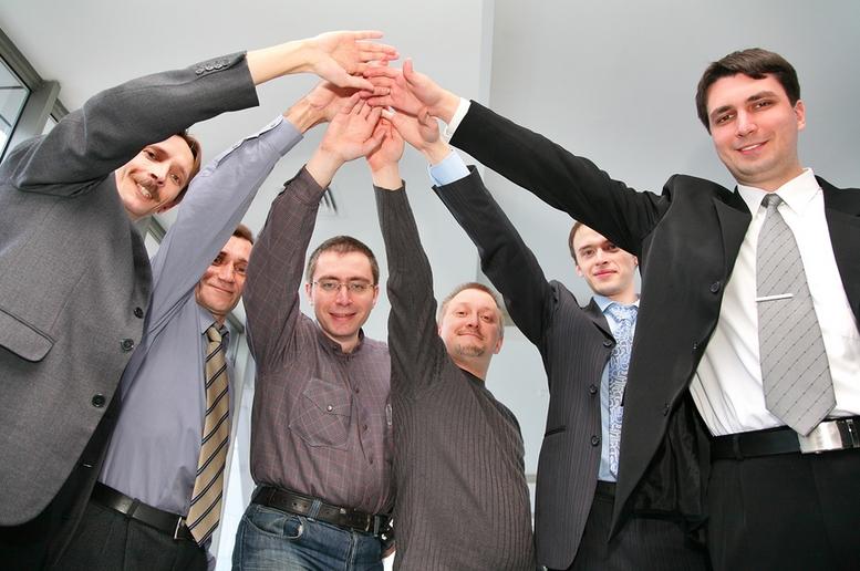amistad en el trabajo