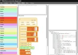 Excelente aplicación web para ayudar a enseñar a programar:Waterbear