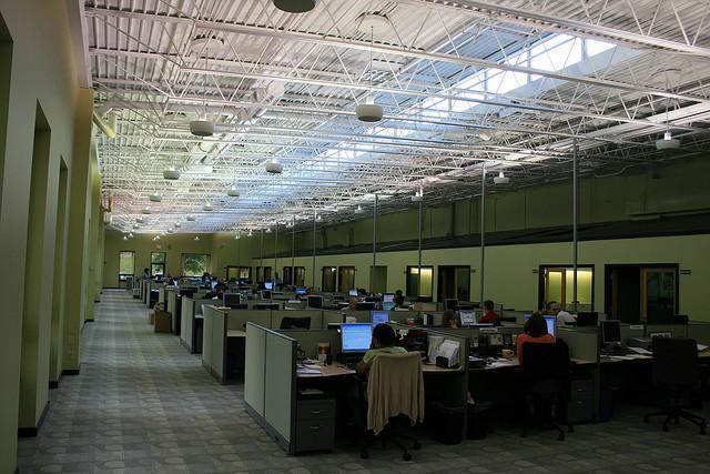 oficina sin paredes